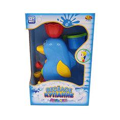 """Дельфин-мельница для ванной, с формочкой (2 предмета), """"Веселое купание"""", ABtoys"""