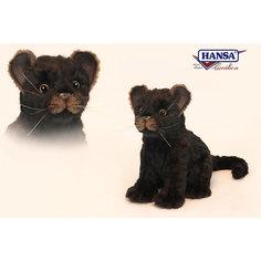 Детеныш ягуара, сидящий, 20 см, Hansa