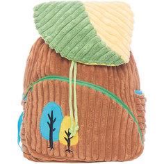 """Рюкзачок """"Лес"""", бежево-зеленый,  20*28 см. Shantou Gepai"""