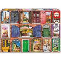 """Пазл """"Двери Европы"""", 1500 деталей, Educa"""