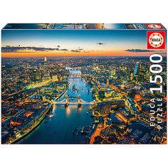"""Пазл """"Лондон с высоты птичьего полета"""", 1500 деталей, Educa"""