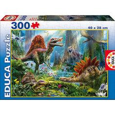 """Пазл """"Динозавры"""", 300 деталей, Educa"""