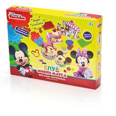 """Набор для лепки Disney Клуб Микки Мауса """"Бургерная"""" (масса для лепки - 6 цв)"""