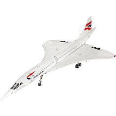 Сверхзвуковой пассажирский самолет Конкорд авиакомпании British Airways Revell