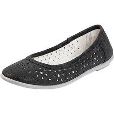 Туфли для девочки Котофей, черный