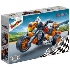Конструктор Мотоцикл, 118 дет., BanBao