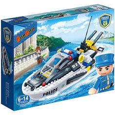 Конструктор Полицейский катер, 225 дет., BanBao