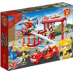 Конструктор Пожарная станция, 505 дет., BanBao