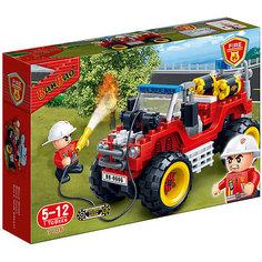 Конструктор Пожарный внедорожник, 212 дет., BanBao