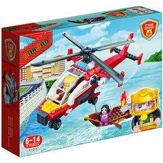 Конструктор Пожарный вертолет, 191 дет., BanBao