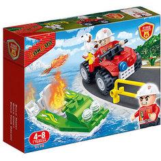 Конструктор Пожарный джип, 62 дет., BanBao