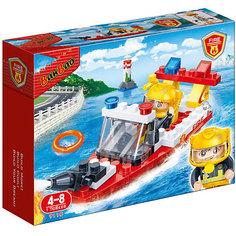Конструктор Пожарный катер, 62 дет., BanBao