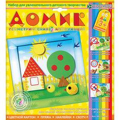 """Набор для изготовления картины """"Домик"""", для детей старше 3 лет Клевер"""