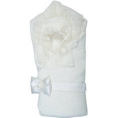Конверт-одеяло на выписку Жемчужинка, Сонный гномик, белый