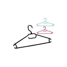 Вешалка-плечики для легкой одежды 48-50, BranQ