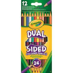 Двухсторонние карандаши, 12 шт., Crayola
