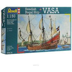 Корабль парусный ВАЗА, XVII век, шведский, Revell