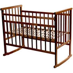 Кроватка-качалка, Мой Малыш, темный