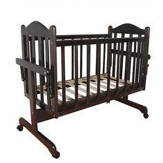 Кроватка-колыбель, Мой Малыш, венге