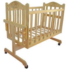 Кроватка-колыбель, Мой Малыш, светлый