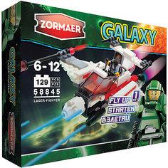 Конструктор Лазерный истребитель, 129 деталей, Zormaer