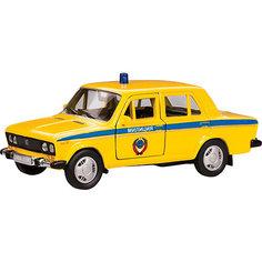 "Машинка ""Lada 2106"" милиция СССР 1:36, Autotime"