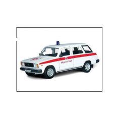 """Машинка """"Lada 2104"""" медслужба 1:36, Autotime"""