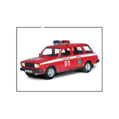 """Машинка """"Lada 2104"""" пожарная охрана 1:36, Autotime"""