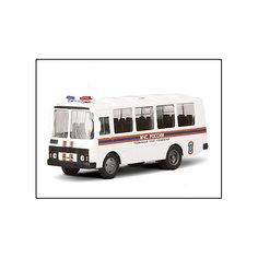 """Машинка """"ПАЗ-32053"""" МЧС 1:43, Autotime"""