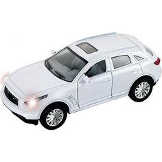 """Машинка """"Japan Premium Suv"""" со светом фар 1:43, Autotime"""