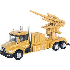 "Машинка ""Military Gun Truck"" с орудием 1:48, Autotime"