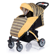 Прогулочная коляска BabyHit Tetra, желтый