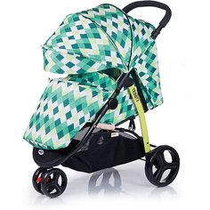 Прогулочная коляска BabyHit Trinity Rhombus, зеленый