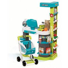 Супермаркет игровой City Shop, со светом и звуком, Smoby