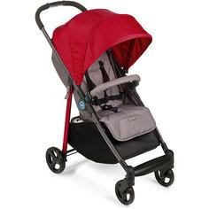 Прогулочная коляска Happy Baby Crossby, красный