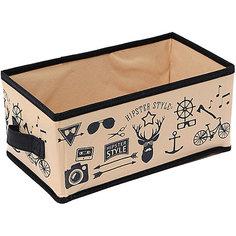 Малый ящик с ручкой (28*14*13) Hipster Style, Homsu