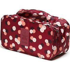 Органайзер-косметичка Цветок, Homsu, бордовый