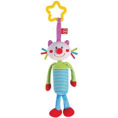 Развивающая игрушка Колокольчик Perky Kitty, Happy Baby