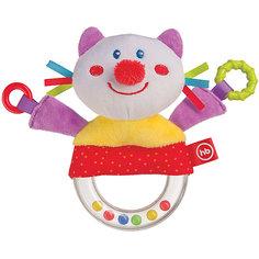 Погремушка-пищалка  Funny Kitty, Happy baby