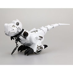 """Интерактивная игрушка Silverlit """"Приручи динозавра"""" (свет, звук), белый"""
