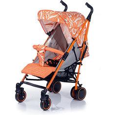 Коляска-трость BabyHit Handy, белый/оранжевый