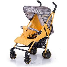 Коляска-трость BabyHit Handy, серый/жёлтый
