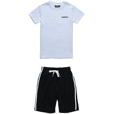 Комплект: футболка и шорты для мальчика Luminoso