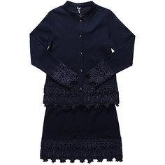 Комплект: пиджак и юбка для девочки Luminoso