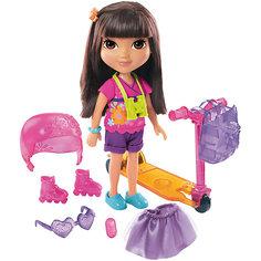 Кукла Даша-путешественница с аксессуарами, Fisher Price Mattel
