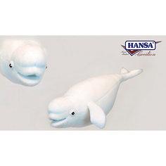 """Мягкая игрушка Hansa """"Кит Белуха"""", 42 см"""