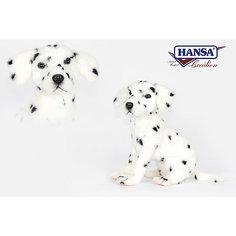 """Мягкая игрушка Hansa """"Далматинец сидящий"""", 30 см"""