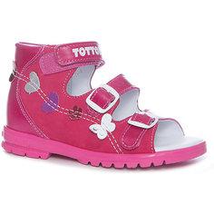 Сандалии для девочки Тотто