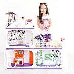 "Коттедж для кукол Barbie ""Конфетти"", с мебелью, Огонек Огонёк"