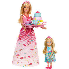 """Игровой набор Barbie """"Чаепитие в Сладкограде"""" Mattel"""